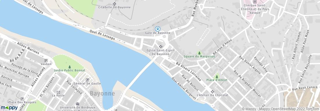 Banque populaire aquitaine centre atlantique bayonne - Horaire bus bayonne ...