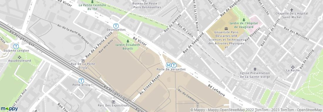 Salon de l 39 agriculture paris adresse avis - Plan metro paris porte de versailles ...