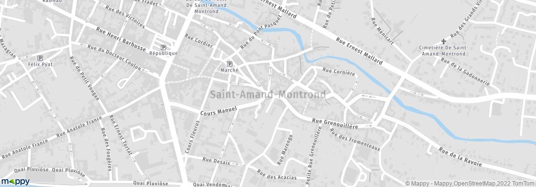 Commune de st amand montrond saint amand montrond adresse - Office de tourisme saint amand montrond ...