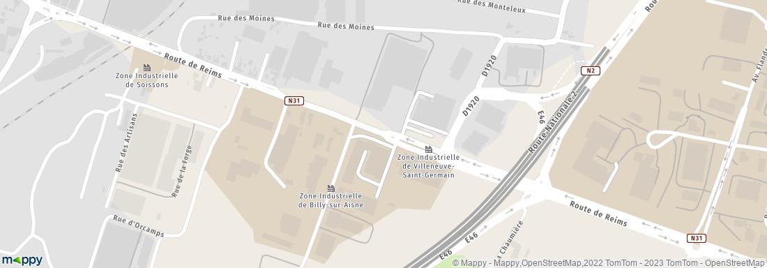 Bureau vente directe villeneuve saint germain adresse for Bureau 02 villeneuve saint germain