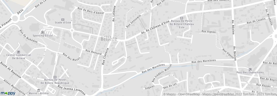 Mairie bill re adresse horaires for Piscine billere