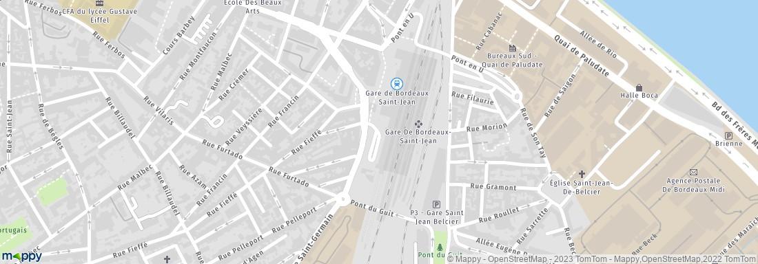 Location de voiture bordeaux saint jean