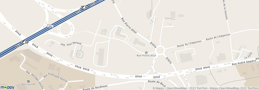 Fasthotel <b>La</b> <b>Roche</b>-<b>sur</b>-<b>Yon</b> at France, Pays de <b>la</b> Loire, …