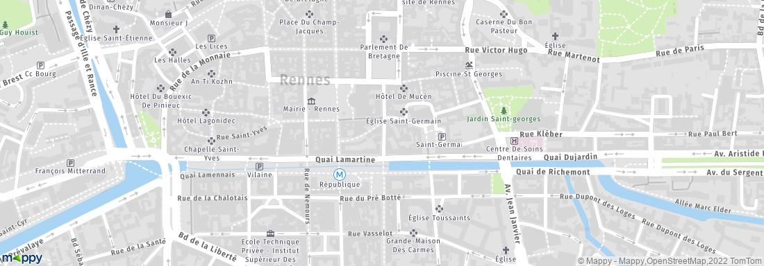 Comptoir National Du Change Rennes adresse horaires avis
