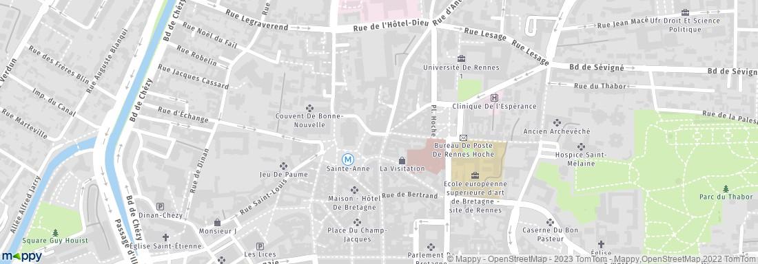 Favori La Rose Mystique Rennes (adresse, horaires) NC21