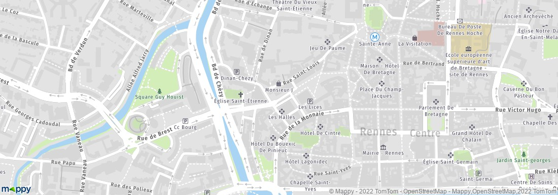 Préférence Le Carré Rennes (adresse, horaires, avis, menu) VY83