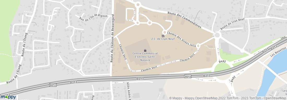 centre leclerc rte point du jour 44600 saint nazaire supermarch s hypermarch s prendre. Black Bedroom Furniture Sets. Home Design Ideas