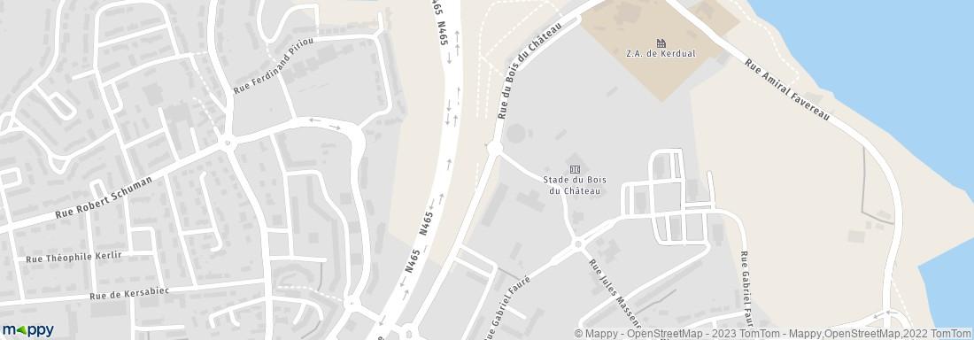 Mairie Lorient Infrastructures De Sports Adresse