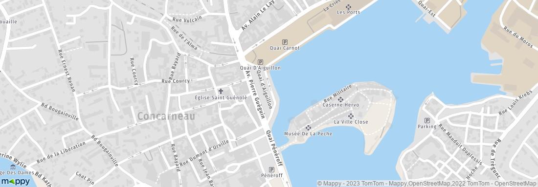 Office de tourisme concarneau adresse horaires ouvert for Piscine concarneau horaires