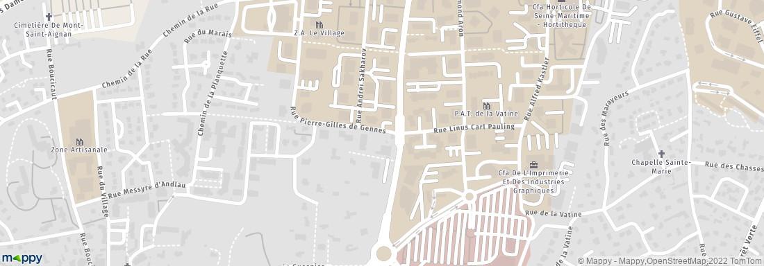 Lignes Mont Saint Aignan - Magasin de meubles (adresse, horaires ...