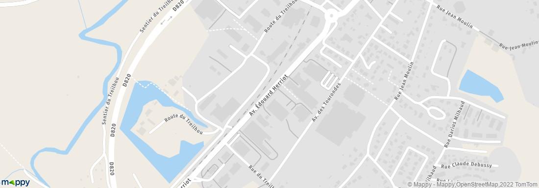 Evazion 59 av edouard herriot 82300 caussade adresse for Plan caussade
