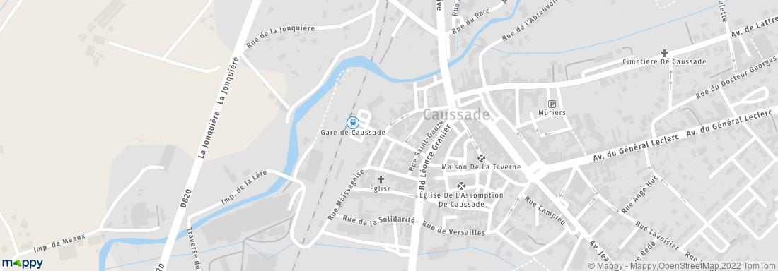 Maison de l 39 emploi midi quercy caussade adresse for Plan caussade