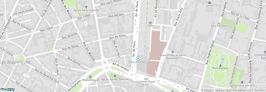 Europcar orl ans location de voitures et utilitaires adresse horaires - Location utilitaire orleans ...