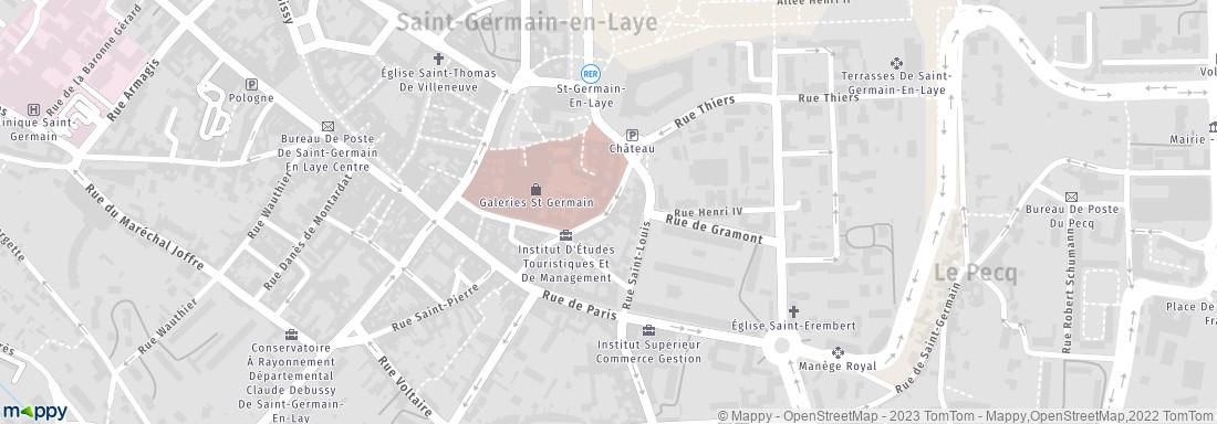 La poste 24 r vieil abreuvoir 78100 saint germain en laye livraison de colis adresse horaires - La poste st germain en laye ...