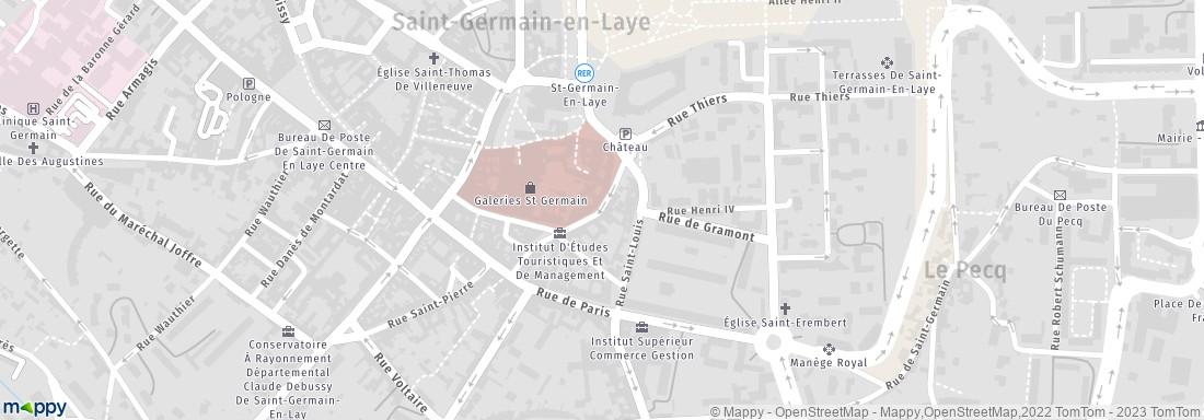 La poste 24 r vieil abreuvoir 78100 saint germain en - La poste st germain en laye ...