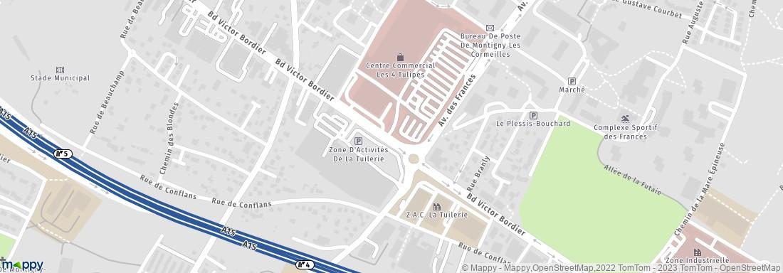 Carrefour Location Montigny Lès Cormeilles (Adresse, Horaires, Avis)