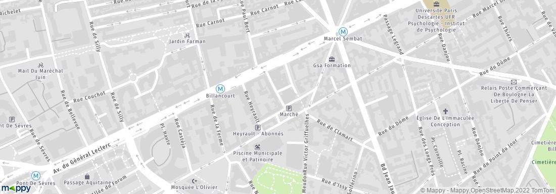 L 39 agence du quartier boulogne billancourt adresse for Agence immobiliere 3f boulogne billancourt