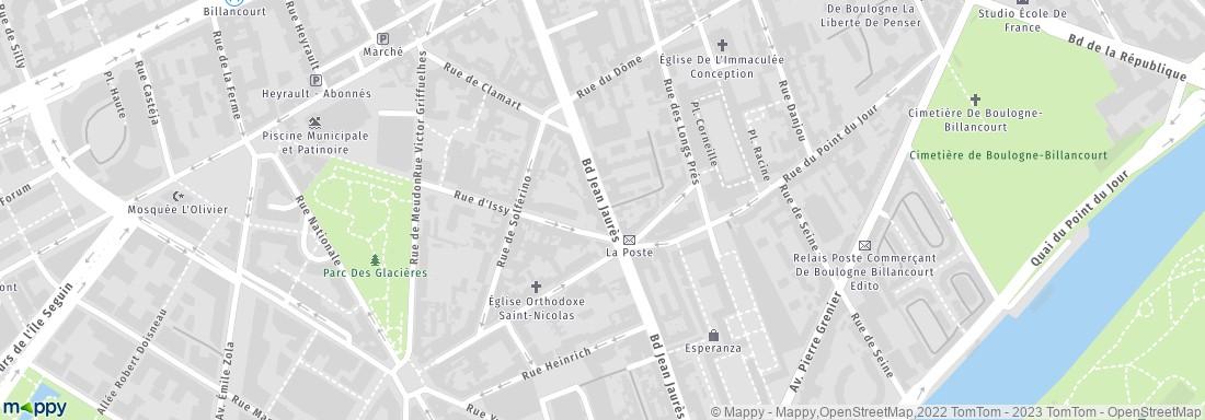 BNP Paribas Boulogne Billancourt adresse horaires