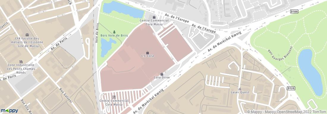 5asec Centre Cial Cora 91300 Massy Pressing Adresse Horaires