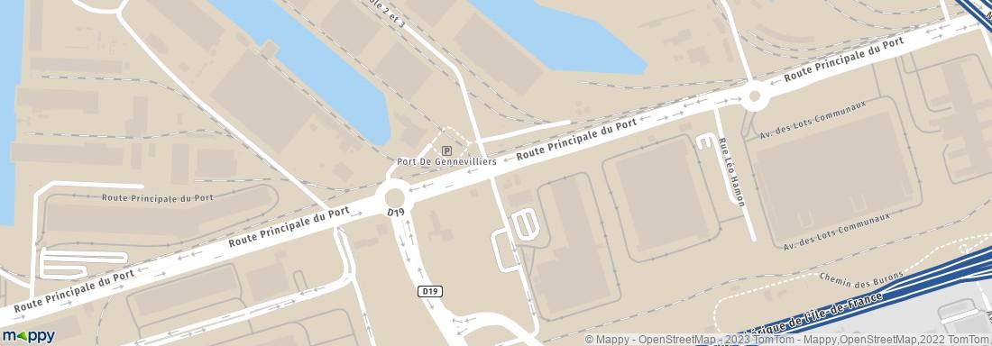Schenker france 37 rte principale du port 92230 - 37 route principale du port gennevilliers ...