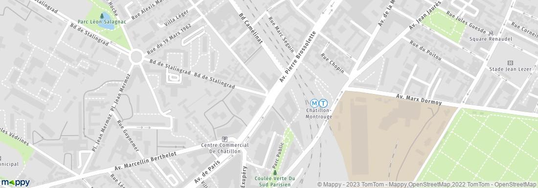 Centre d 39 imagerie m dicale maison blanche ch tillon adresse for Adresse maison blanche