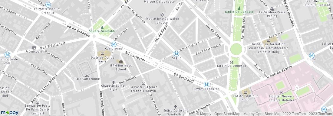 FCGE Paris adresse