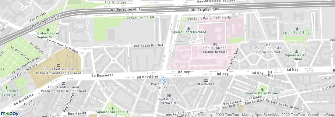 H pital maison blanche paris adresse for Adresse maison blanche