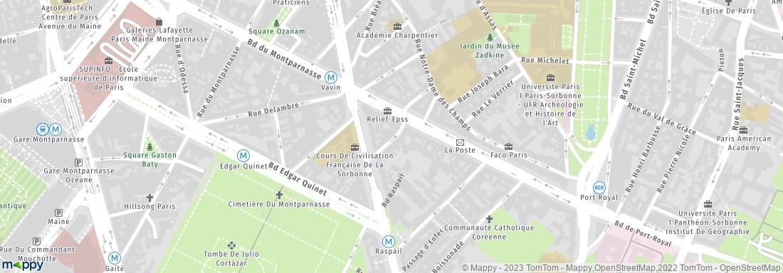 Plan Foyer Universitaire : Foyer universitaire du dôme paris résidence étudiante