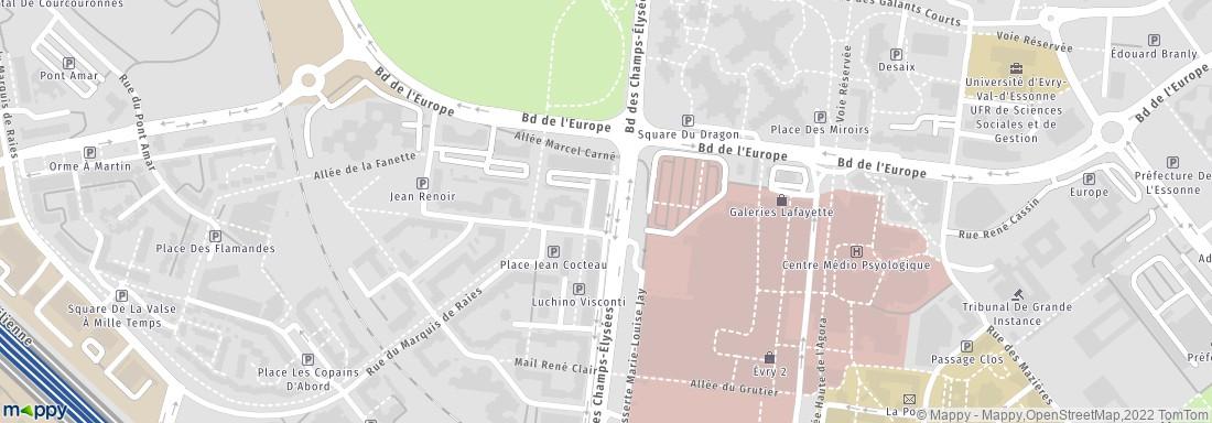Banque Populaire Rives De Paris 92 Bd Champs Elysees 91000 Evry