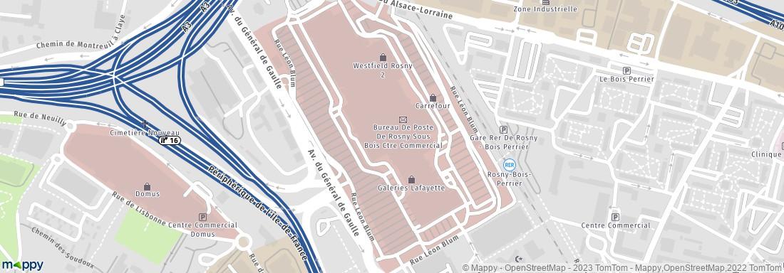 Nyx rosny 2 2 av g n de gaulle 93110 rosny sous bois institut de beaut adresse horaires - Centre commercial rosny horaires ...