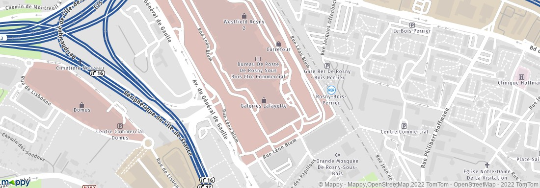 Centre commercial rosny 2 rosny sous bois adresse horaires avis ouvert le dimanche - Horaire centre commercial rosny ...