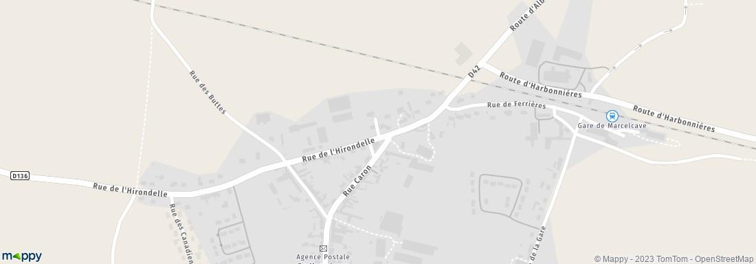 Plan De Ville Marcelcave