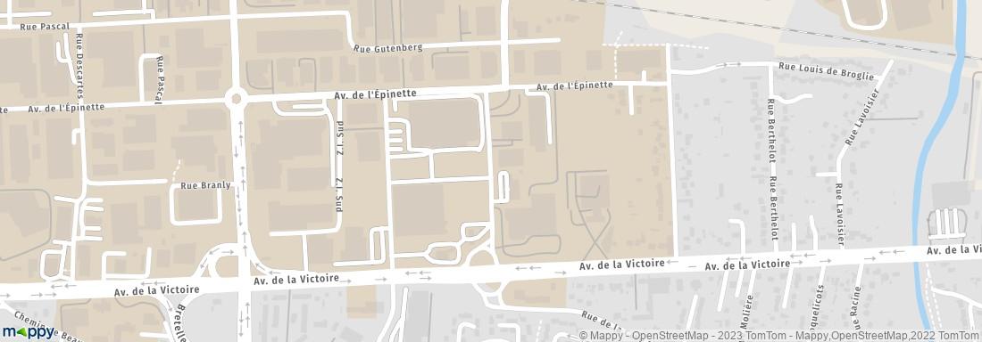 Centre leclerc meaux adresse horaires avis - Horaire m1 meaux ...
