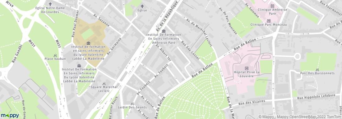 Transition la madeleine architecte adresse for Code naf architecte