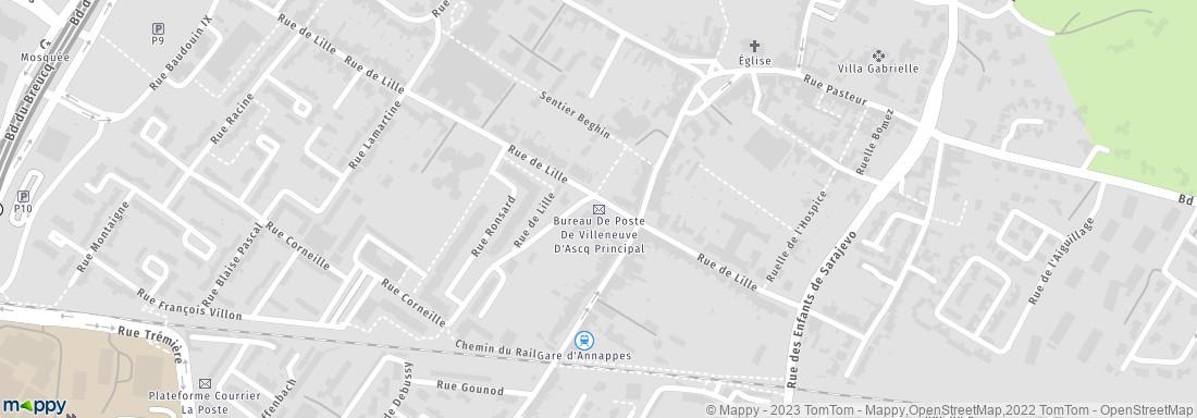 La poste villeneuve d 39 ascq adresse horaires avis for Comhoraire la poste villeneuve d ascq