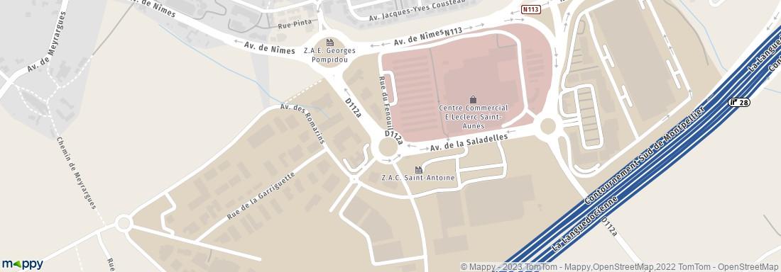E leclerc 28 centre cial st antoine 34130 saint aun s station service adresse horaires avis - Horaire leclerc saint aunes ...