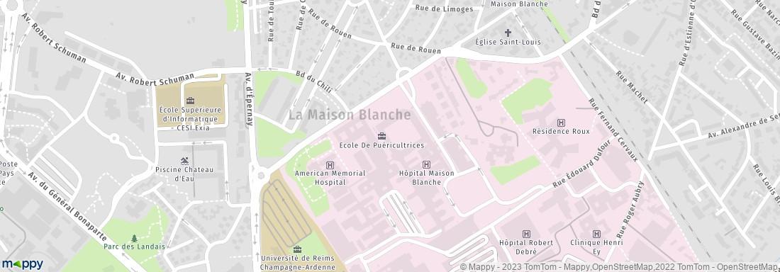 Gare maison blanche reims adresse avie home for Adresse de la maison blanche