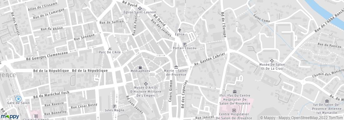 Image salon de provence adresse horaires - Plan salon de provence ...