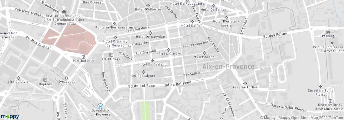 Jardin mazarin aix en provence adresse horaires for Jardin mazarin