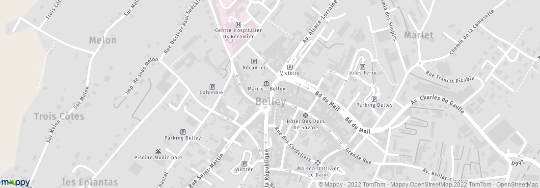 Territoire d 39 homme 3 bd verdun 01300 belley magasins for Plan de belley