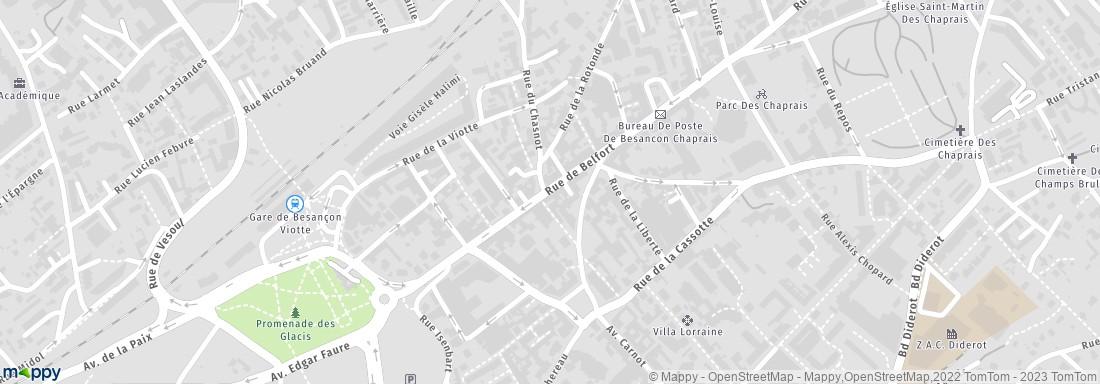 Domino\'s Pizza Besançon, 22 r Belfort, 25000 Besançon - Restaurant ...