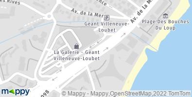 Station Essence Geant Casino Villeneuve Loubet