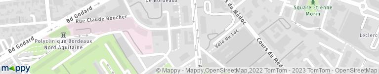 Carte Tram Bordeaux Demandeur Demploi.Pole Emploi 221 Av Emile Counord 33300 Bordeaux Adresse Horaires