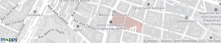 Parking Indigo Les Halles, 22 r Gén Leclerc, 80000 Amiens