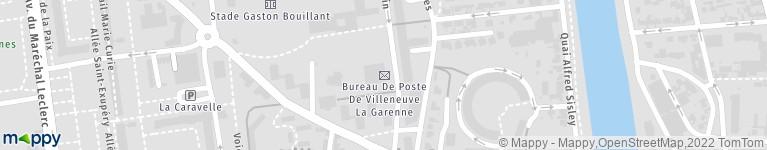 BUREAU DE POSTE VILLENEUVE LA GARENNE
