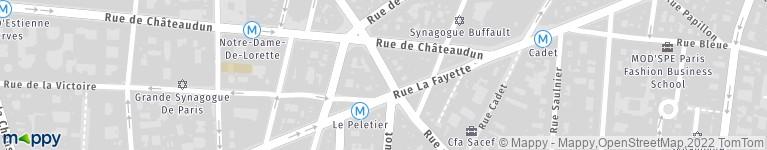 Okito Lepeletier Paris - Restaurant (adresse)