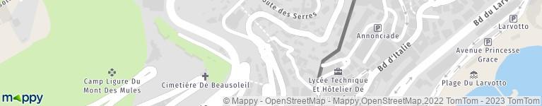 Carte Odalys Italie.Odalys Residences Beausoleil Hotel Adresse Horaires