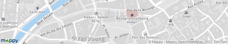 Parking Indigo Kléber Homme De Fer, pl Kléber, 67000